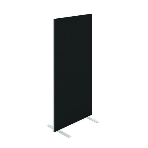 Jemini Floor Standing Screen 800 x 1600mm Black FST08016SBK