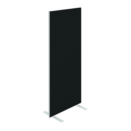 Jemini Floor Standing Screen 800 x 1800mm Black FST8018SBK