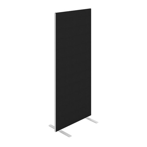 Jemini Floor Standing Screen 800 x 1800mm Black KF90694