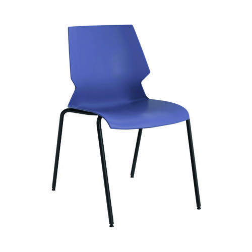 Jemini Uni 4 Leg Chair Blue/Grey KF90711