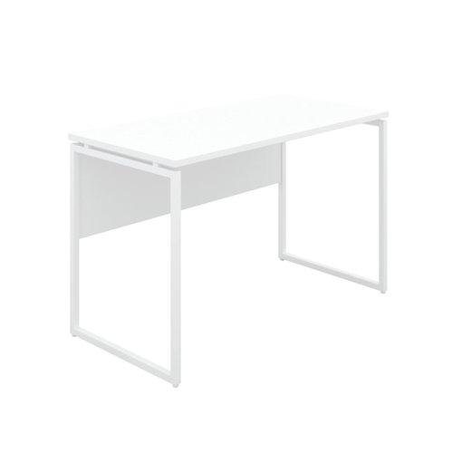 Jemini Soho Square Leg Desk White/White Leg KF90769