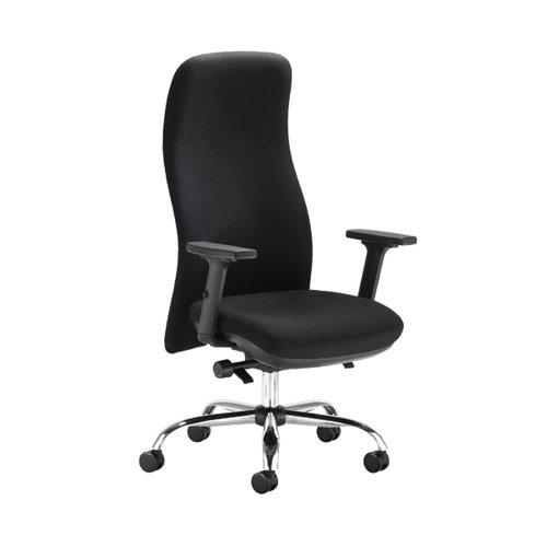Capella Tempest Posture Chair 2D Arms 680x680x1150-1310mm Black KF90893