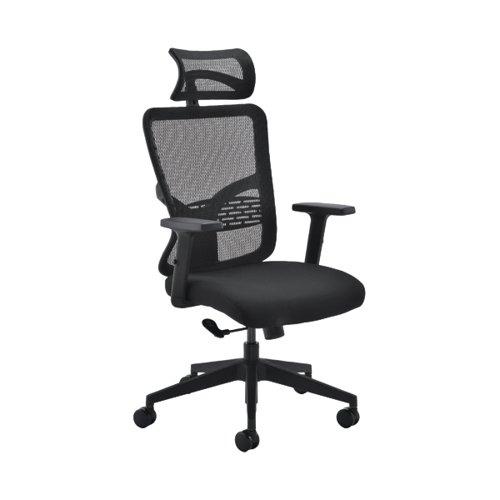Arista Vienna Chair 650x650x1090-1275mm Black KF90894