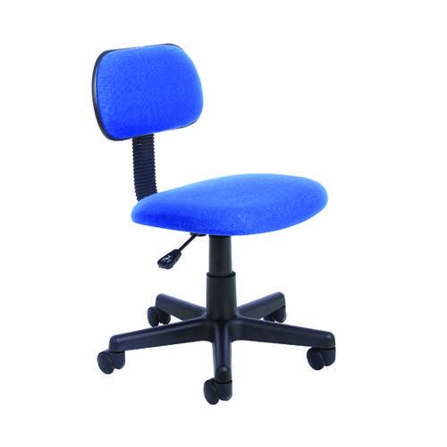 Jemini Typist Chair 500x500x735-850mm Royal Blue KF90899