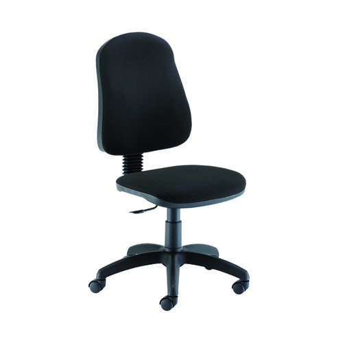 Jemini Teme Medium Back Chair 640x640x1010-1140mm Black KF90900