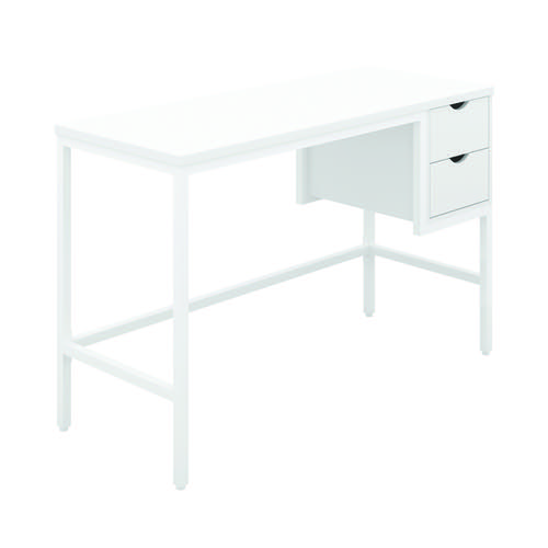 Soho Computer Desk With 2 Drawers White/White KF90928