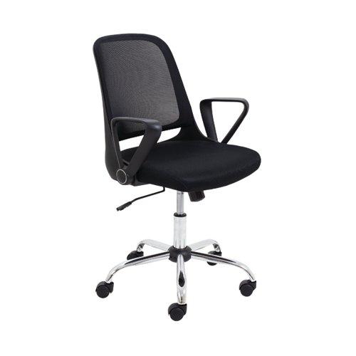 Jemini Billow Task Chair 610x275x570mm Mesh Back Black KF90929