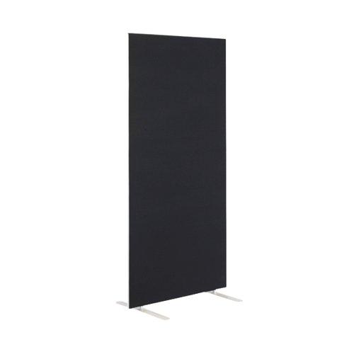 First Floor Standing Screen 800x25x1800mm Black KF90963