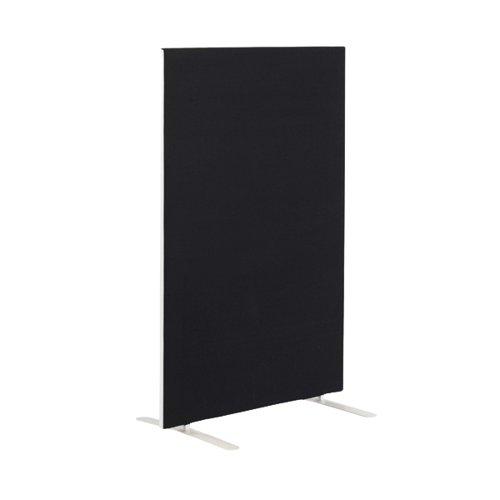 First Floor Standing Screen 1200x25x1600mm Black KF90965