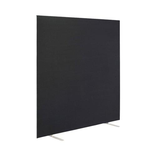 First Floor Standing Screen 1400x25x1200mm Black KF90969