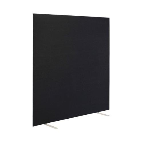 First Floor Standing Screen 1400x25x1600mm Black KF90971