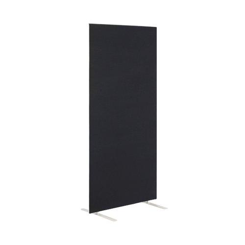 First Floor Standing Screen 1400x25x1800mm Black KF90973