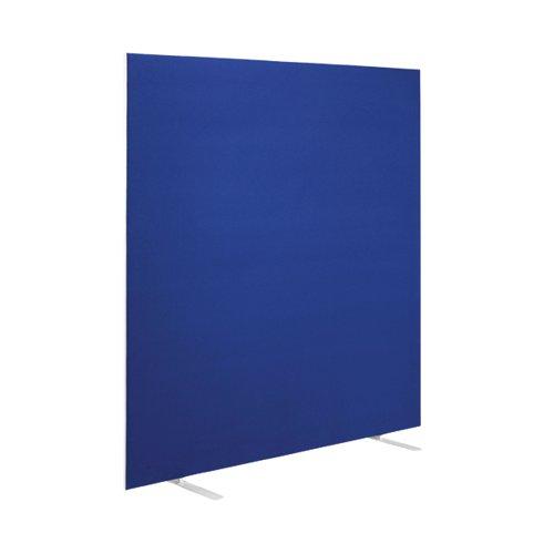 First Floor Standing Screen 1600x25x1200mm Blue KF90976