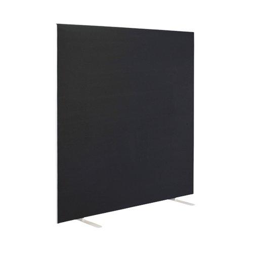 First Floor Standing Screen 1600x25x1600mm Black KF90977