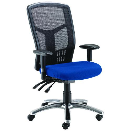 Avior Logan High Back Mesh Operator Chairs (Adjustable seat and height adjustment) 09HD05