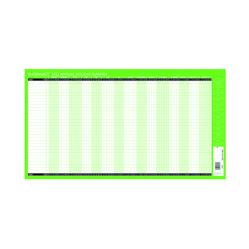 Q-Connect Holiday Planner Unmounted 2022 KFAHP22