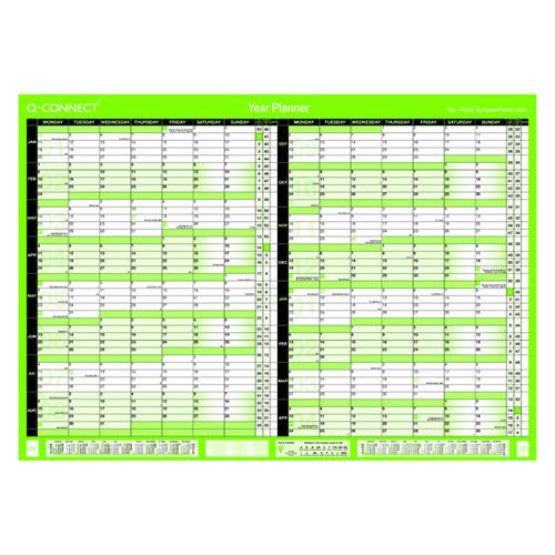 Q-Connect 16 Month Planner A1 Unmounted 2021-22 KFBPU121