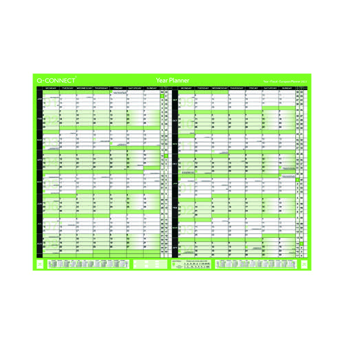 Q-Connect 16 Month Planner A1 2022-23 KFBPU122