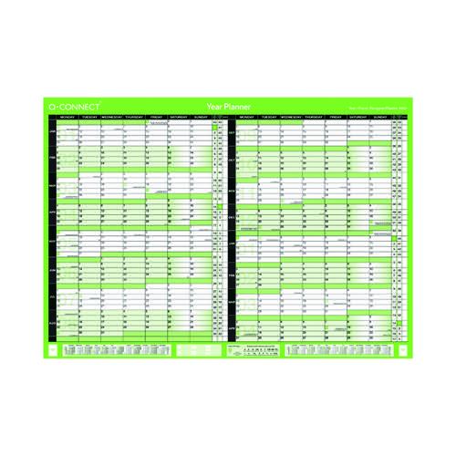Q-Connect 16 Month Planner A2 2022-23 KFBPU222