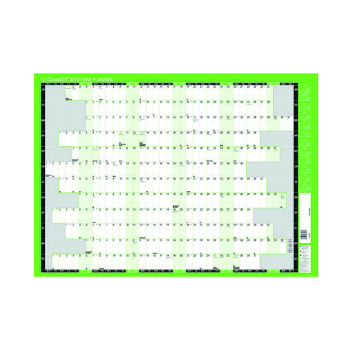 Q-Connect Year Planner Unmounted 2022 KFYPU22 by VOW, PLA2402