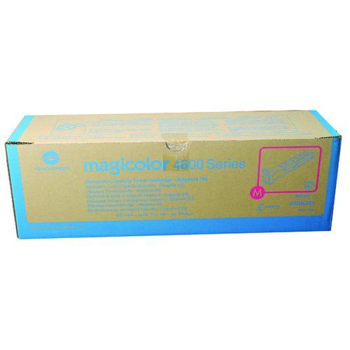 Konica Minolta Magenta Toner Cartridge A0DK351