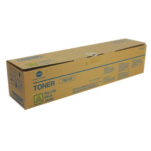 Konica Minolta Yellow Toner Cartridge TN213Y