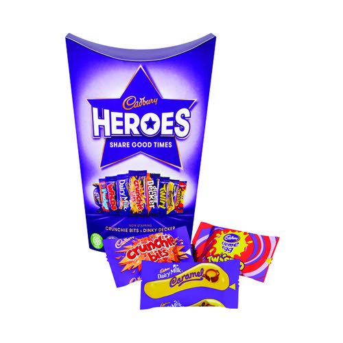 Cadburys Heroes Tub 185g Each 4073050