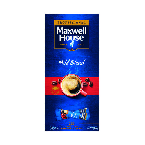 Maxwell House Instant Mild Sticks (Pack of 200) 4041138