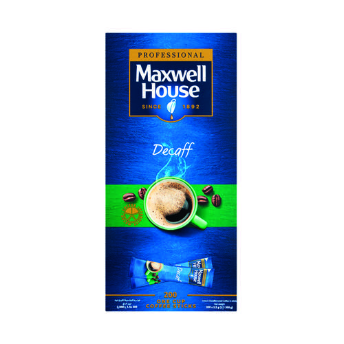 Maxwell House Instant Decaf Sticks (Pack of 200) 4041162
