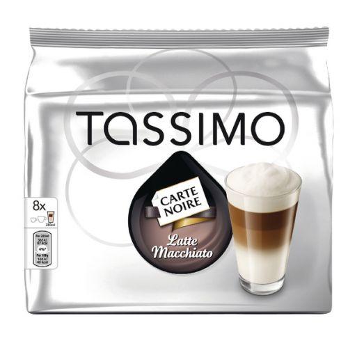 Tassimo Carte Noir Latte Macchiato Coffee 8x 267g Capsules [Pack 5] 343364