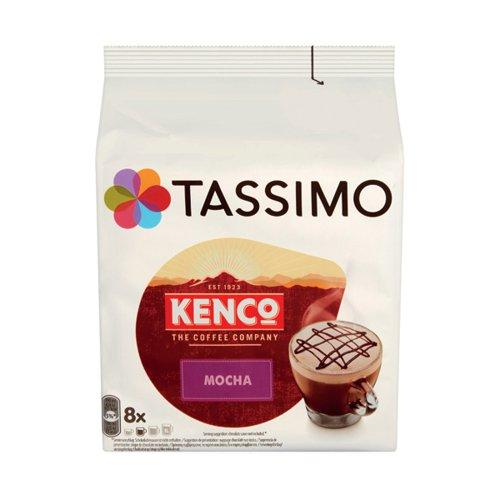 Tassimo Kenco Mocha Pods (Pack of 8) 4041498