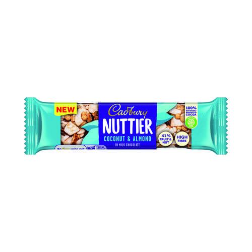 Cadbury Nuttier Coconut Almond 40g (Pack of 15) 4259100