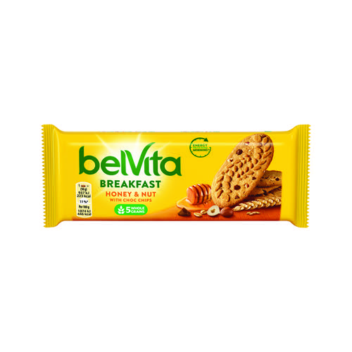 Belvita Breakfast 50g Honey Nut (Pack of 20) 665183 Food & Confectionery KS42163