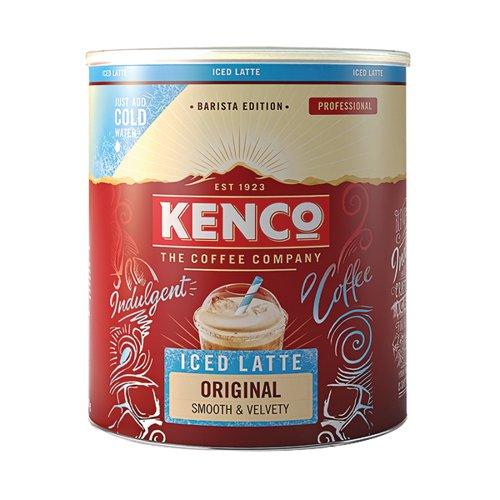 Kenco Instant Iced Latte Original Tin 1.2kg 4070067