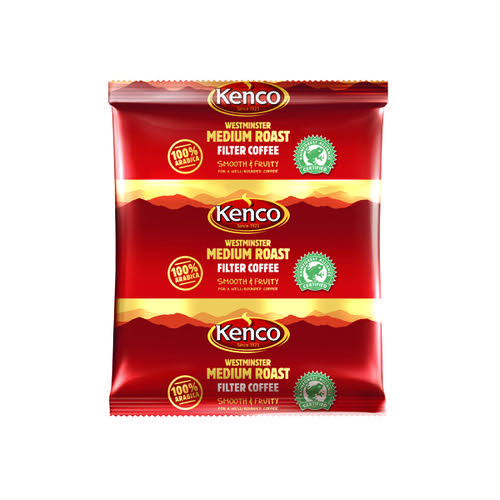 Kenco Westminster 3 Pint Coffee Sachet (Pack of 50) 756880