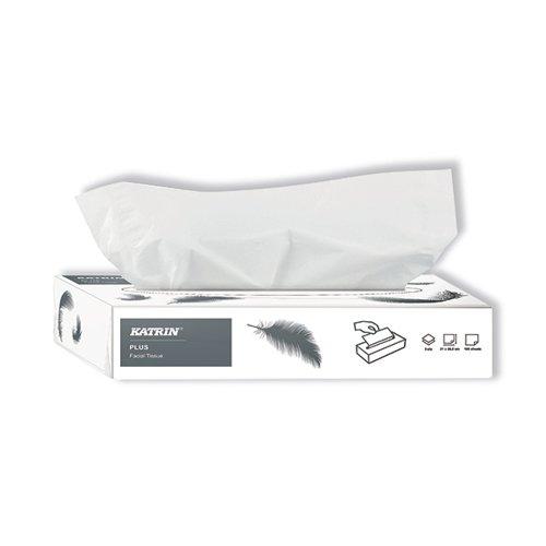 Katrin Plus Facial Tissues 2-Ply 100 Sheets (Pack of 40) 11797