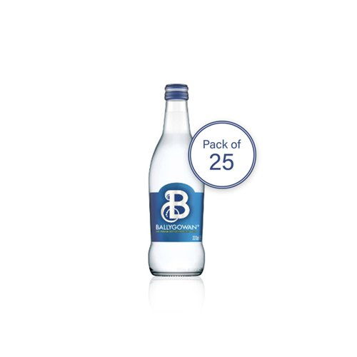 Ballygowan Glass Bottle Sparkling 330ml LB00031