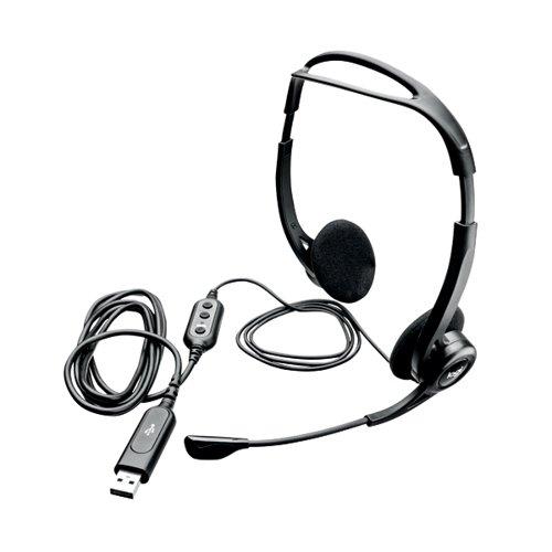 Logitech 960 USB Headset 2.4m Cable Length (USB-A Connectivity) 981-000100