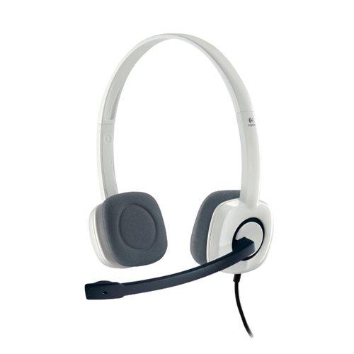 Logitech H150 Stereo Headset White 981-000271