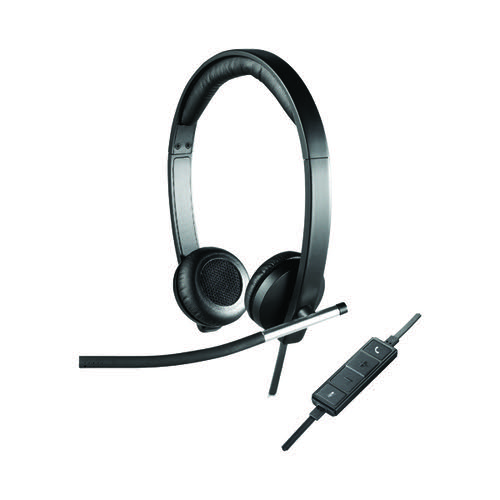 Logitech H650E Stereo Headset 981-000519