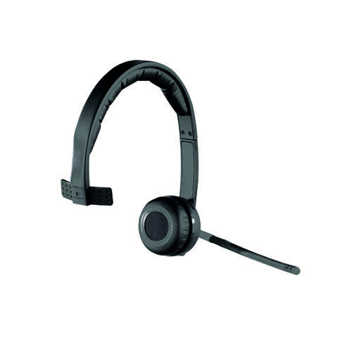 Logitech H820E Wireless Headset Mono (Up to 10 hours of talk time) 981-000512