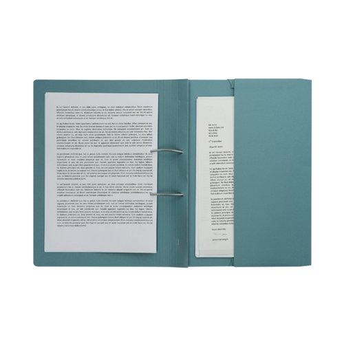 Pocket Spiral Files 285gsm Foolscap Blue (Pack of 25) TPFM-BLUZ