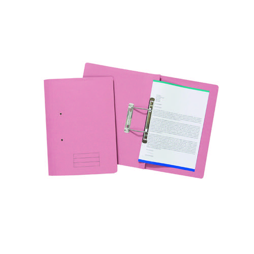 Spiral Files 285gsm Foolscap Pink (Pack of 50) TFM50-PNKZ