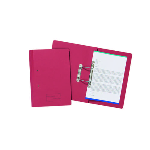 Spiral Files 285gsm Foolscap Red (Pack of 50) TFM50-REDZ