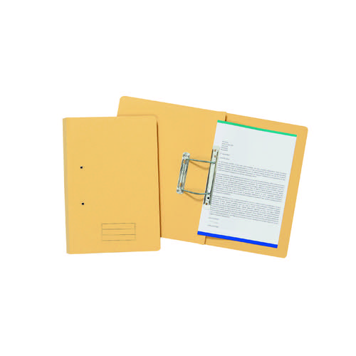 Spiral Files 285gsm Foolscap Yellow (Pack of 50) TFM50-YLWZ