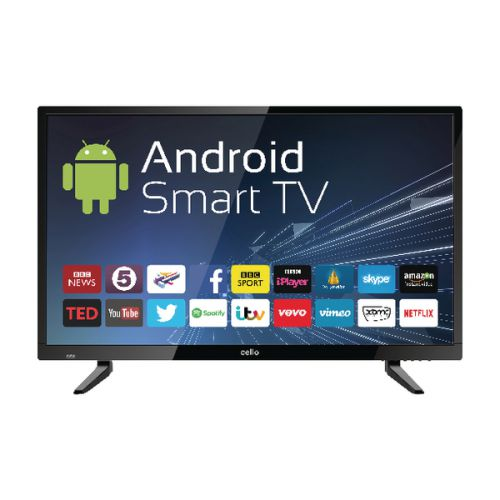 Cello 43in Android Smart HD LED TV C43ANSMT