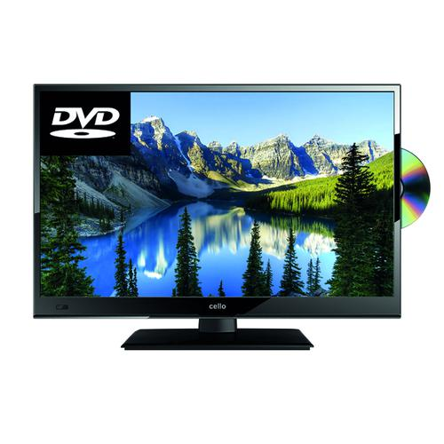 Cello 22in Full HD LED TV Built in DVD Player C22230FT2