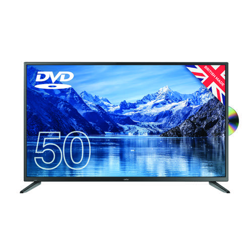 Cello 50 Inch Freeview HD LED TV with DVD Player 1080p C5020F
