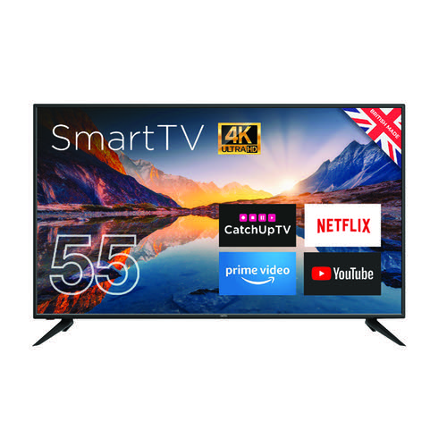 Cello 55 Inch Ultra HD LED Smart Android TV 4K C5520RTS4K