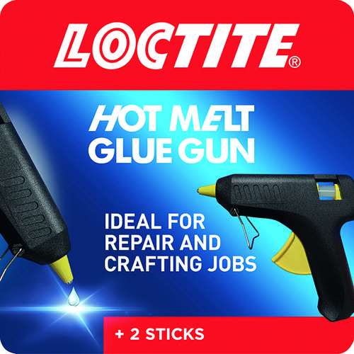 Loctite Hot Melt Glue Gun (Includes 2 glue stick refills) 1747637